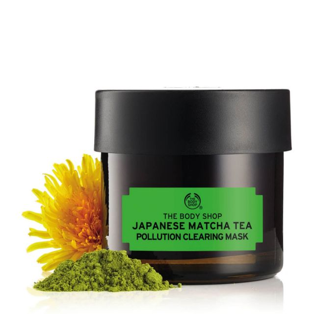 The Body Shop Japanese Matcha Tea Pollution Clearing Mask, Rs 1895