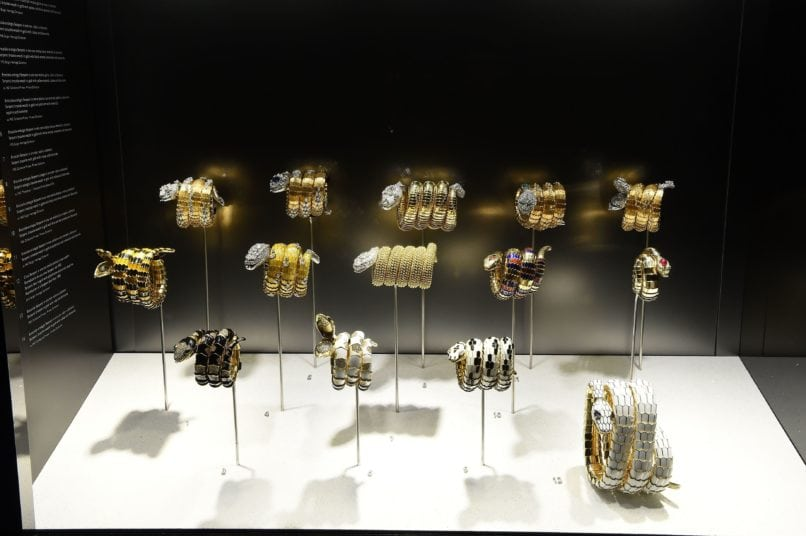'Serpentiform: Snake Through Art, Jewellery and Design' exhibit held at the Museum of Rome, Palazzo Braschi, in 2016. Image: Courtesy Getty