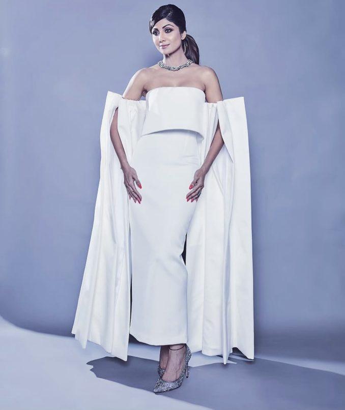 Shilpa Shetty styled by Mohit Rai