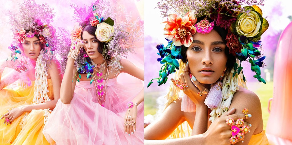 Mohit Rai styled campaign for Outhouse Jewellery