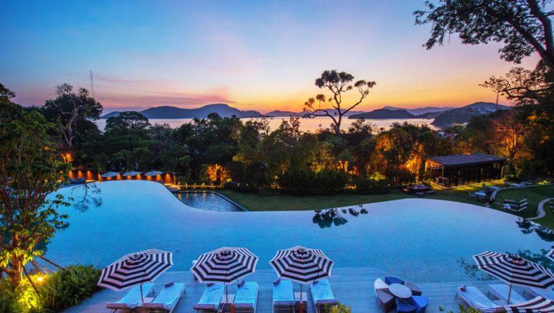 Sri Panwa Phuket luxury beach resort.