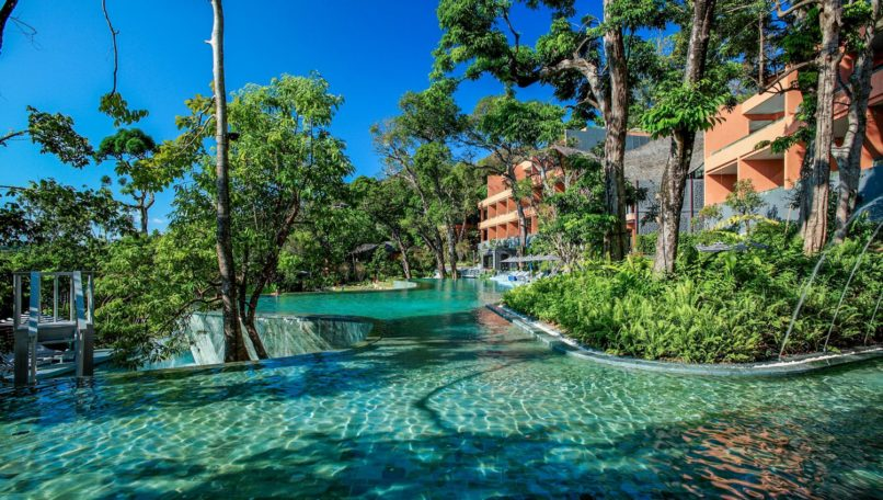 Swimming Pool at Sri Panwa.