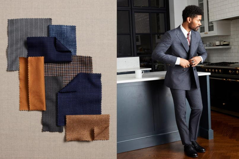 Brooks Brothers made-to-measure service and suit look