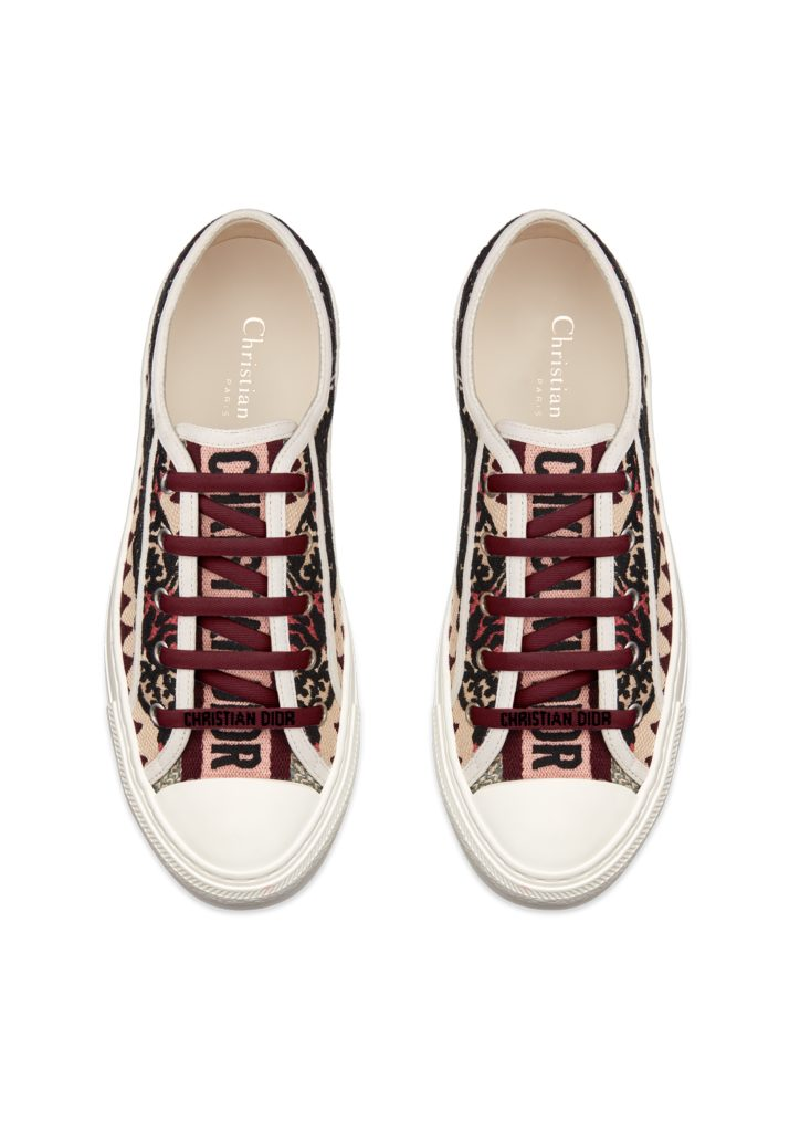 Walk 'N' Dior sneakers in embroidered canvas