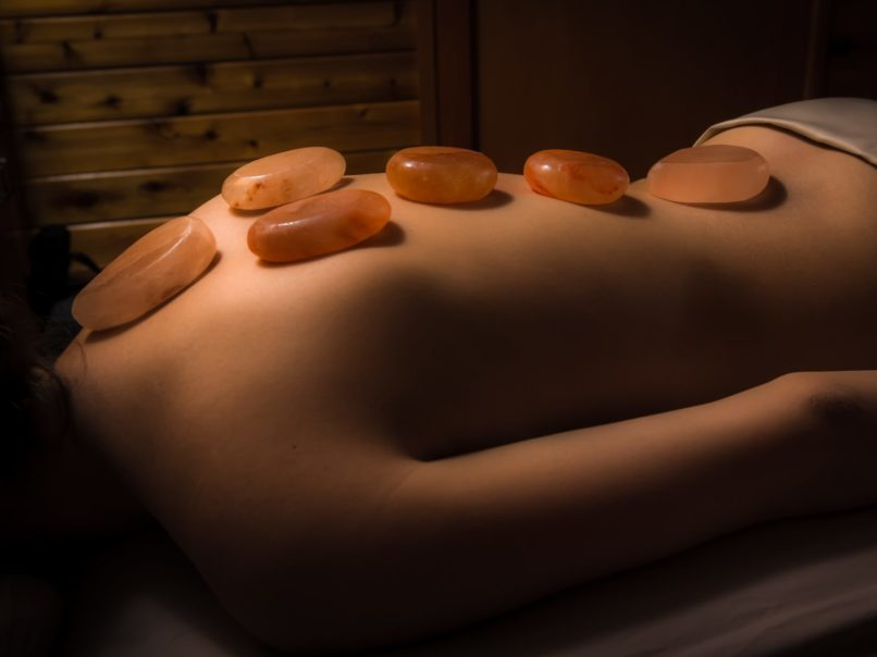 Spa review - Bliss Spa - Himalayan Salt massage