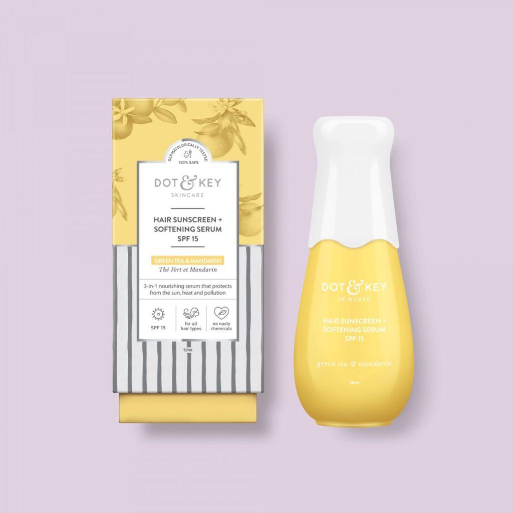 Dot & Key Hair Sunscreen + Softening Serum SPF 15