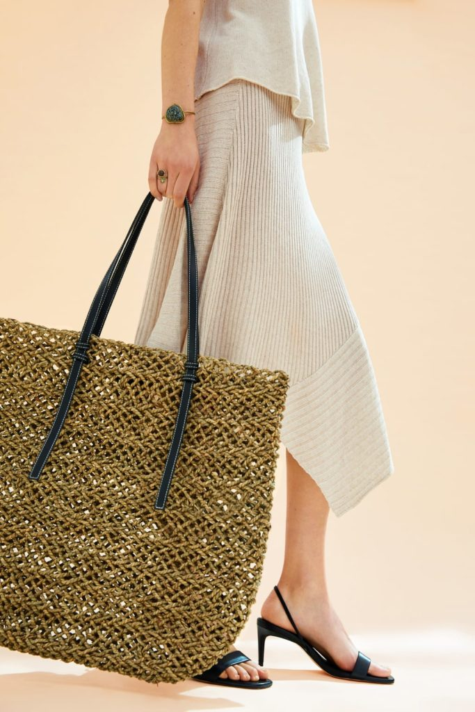 Natural maxi tote bag by Zara