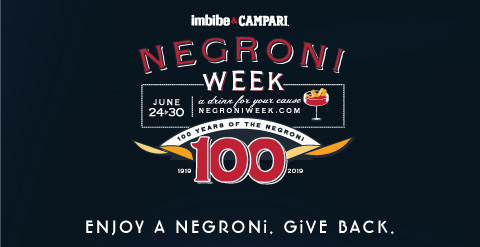 Negroni Week sign