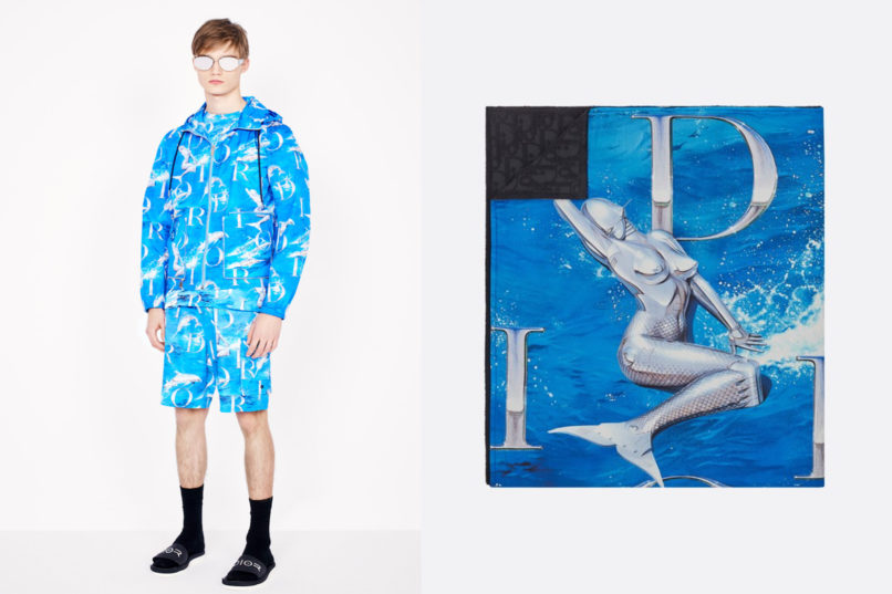 Dior beachwear capsule looks by Kim Jones