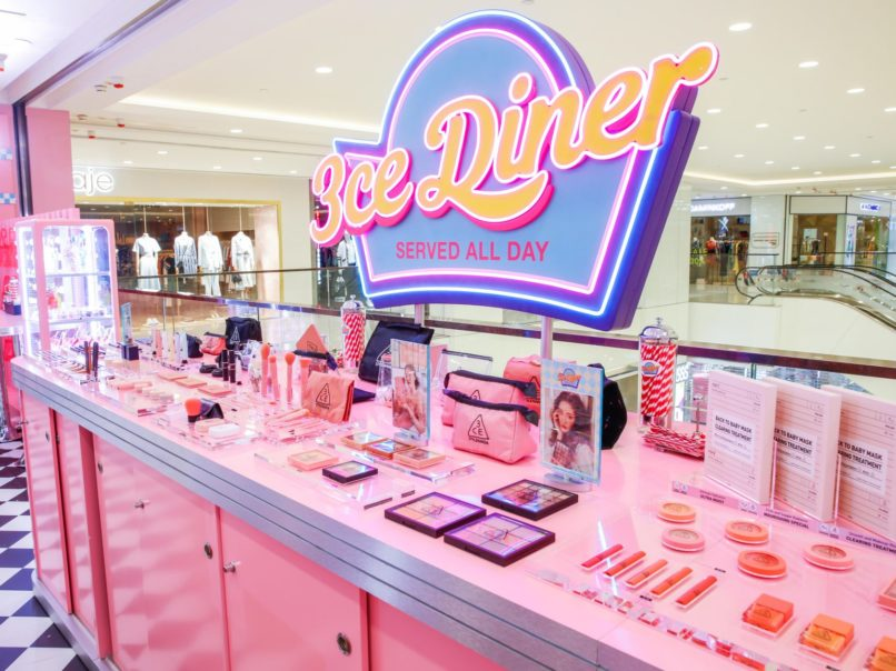 Things to do in Hong Kong - 3CE Diner Pop-up