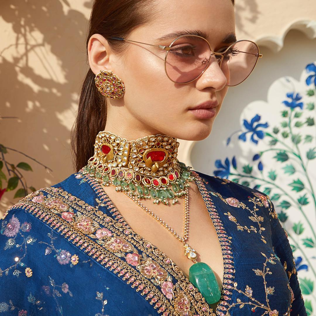 Layered necklaces. Image: Courtesy Pinterest