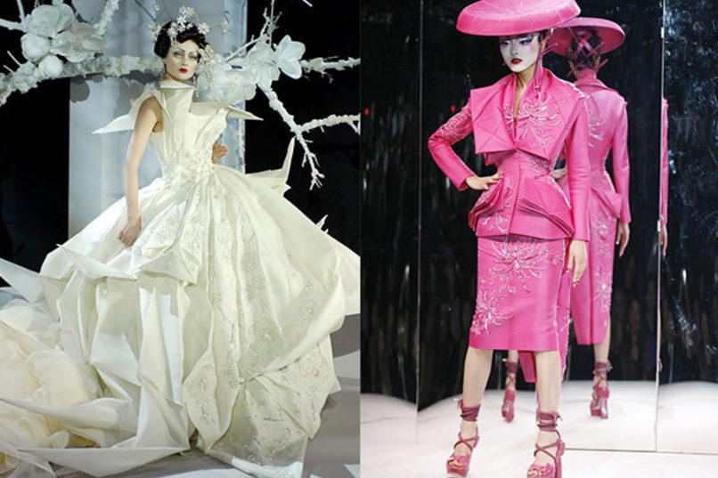 Key looks from Christian Dior Spring 2007 Couture collection