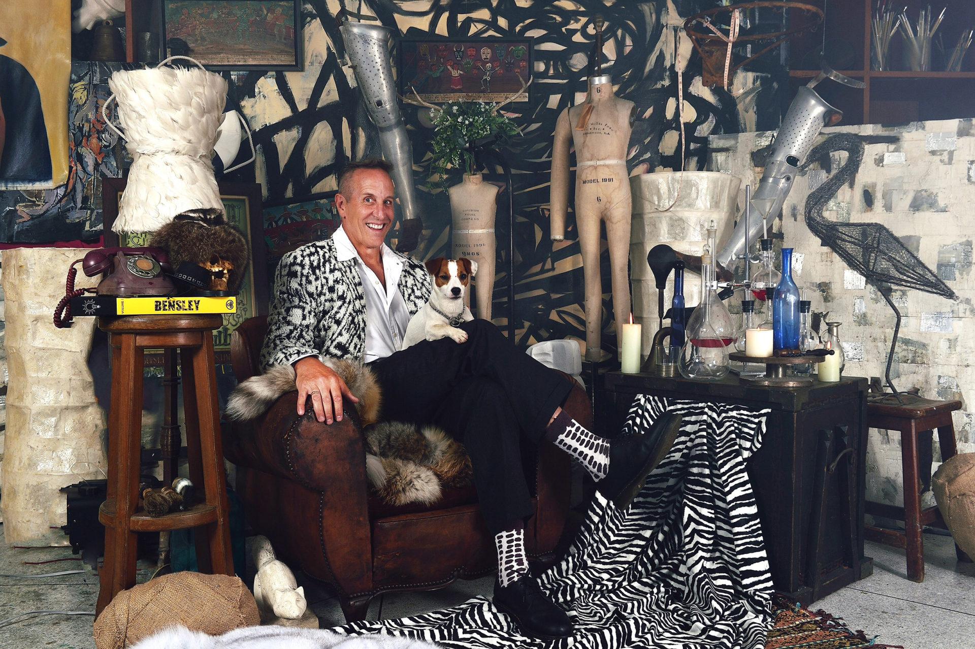 Bill Bensley at his studio