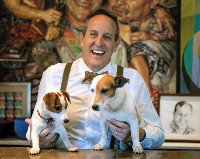 Bill Bensley and dogs