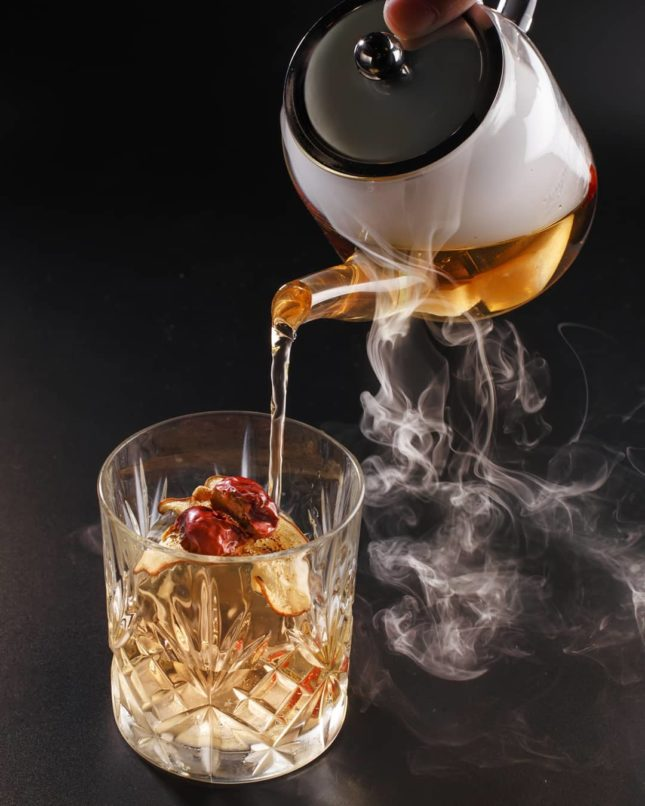 tea cocktails indulge experimental bistro