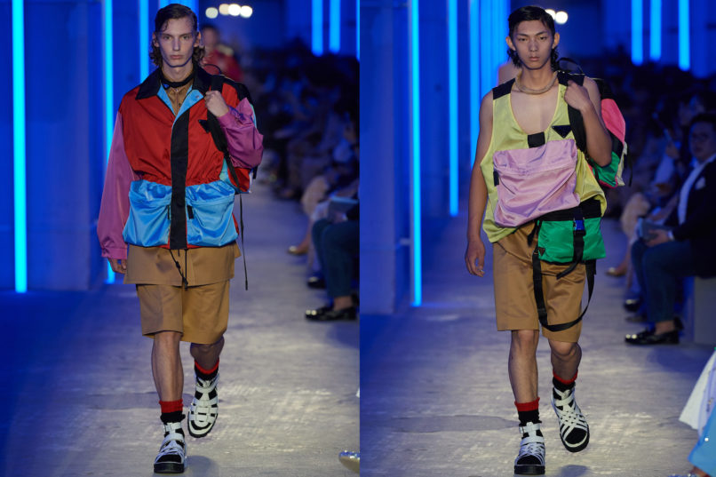 Runway looks from Prada SS2020 menswear collection