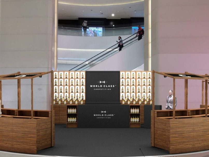 where to drink in Hong Kong - July - World Class Diageo Reserve