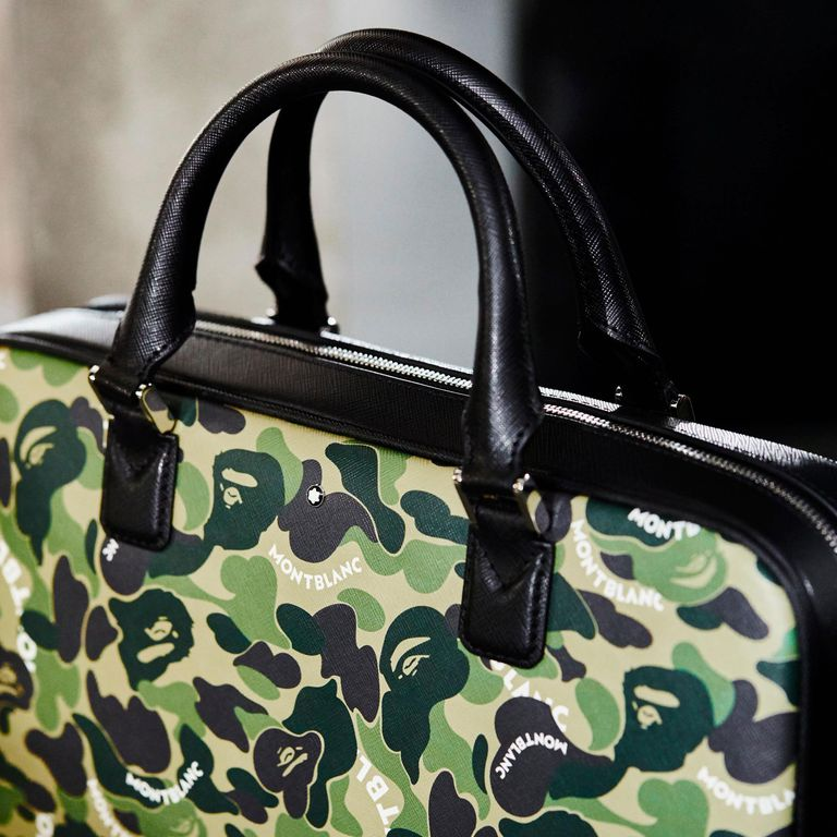 525bc741849 Montblanc goes the extra mile with its accessories alongside Bape