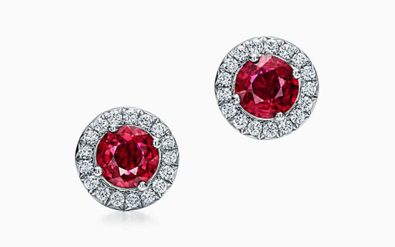 July birthstone Ruby: Tiffany & Co.