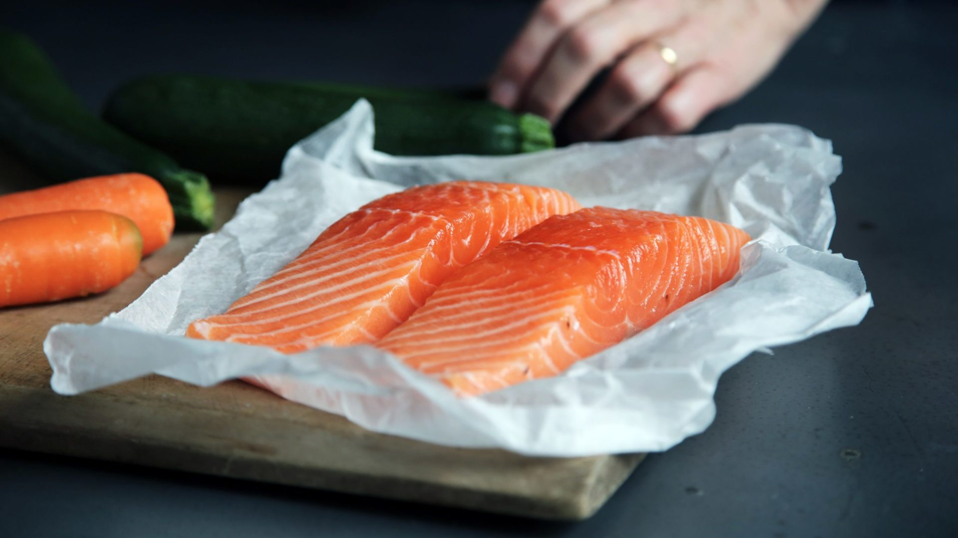 South Stream Market - salmon