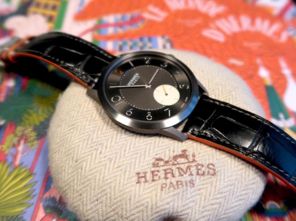 Slim d'Hermès Titane