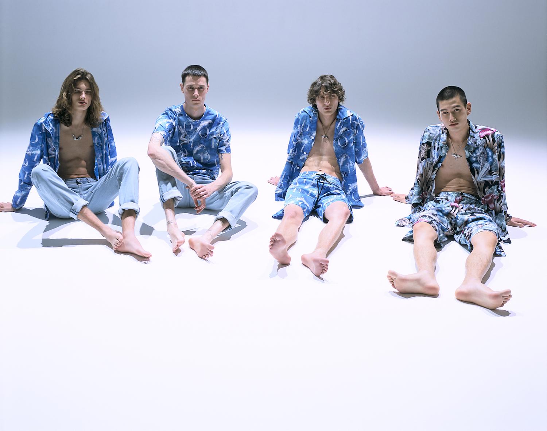 dior men's beachwear
