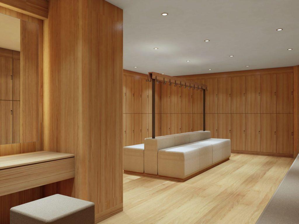 Fivelements Habitat - Changing rooms