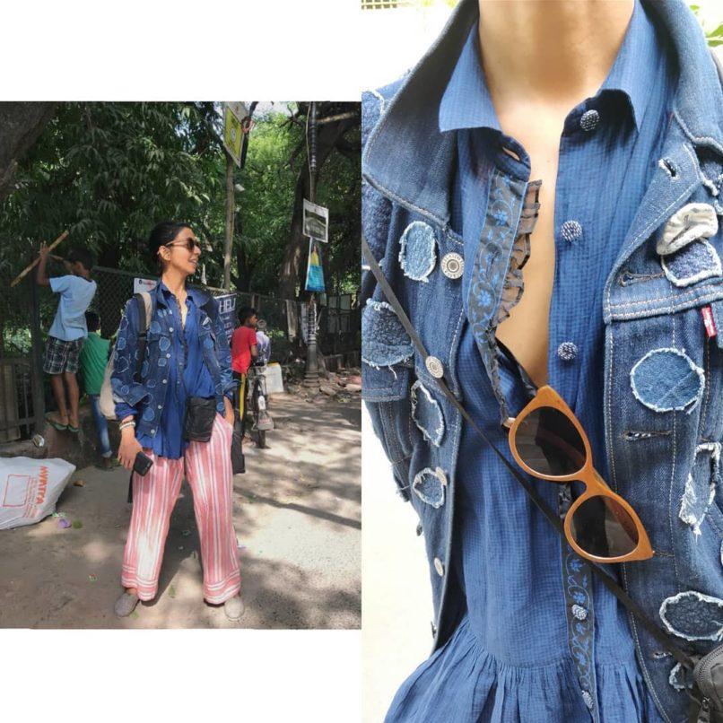 Ekta Rajani on slow fashion. Image: Courtesy Instagram