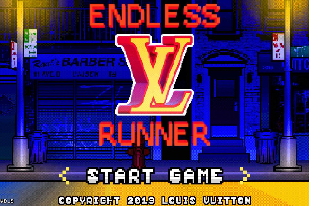 Louis Vuitton video game