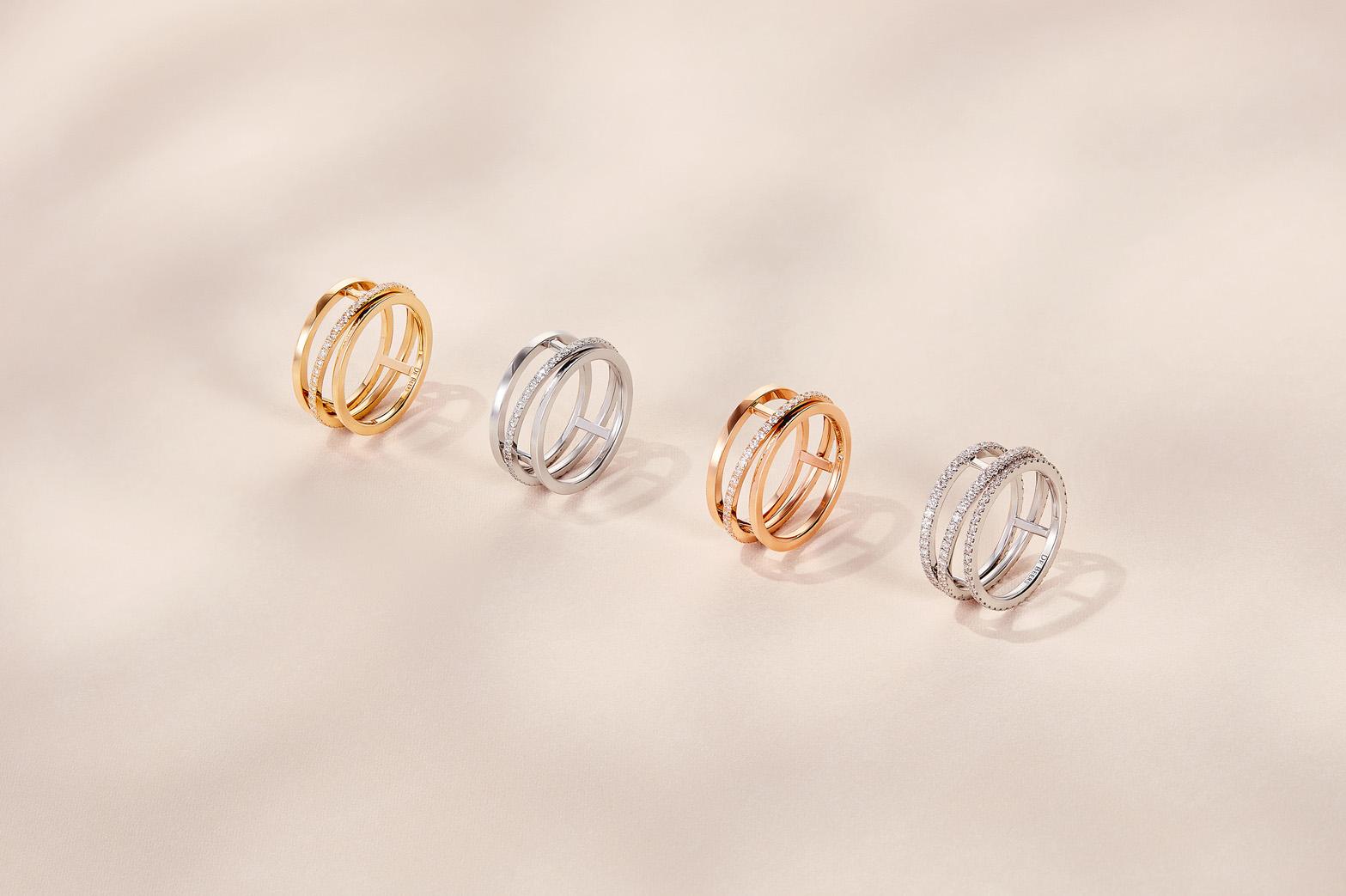 De Beers Horizon rings