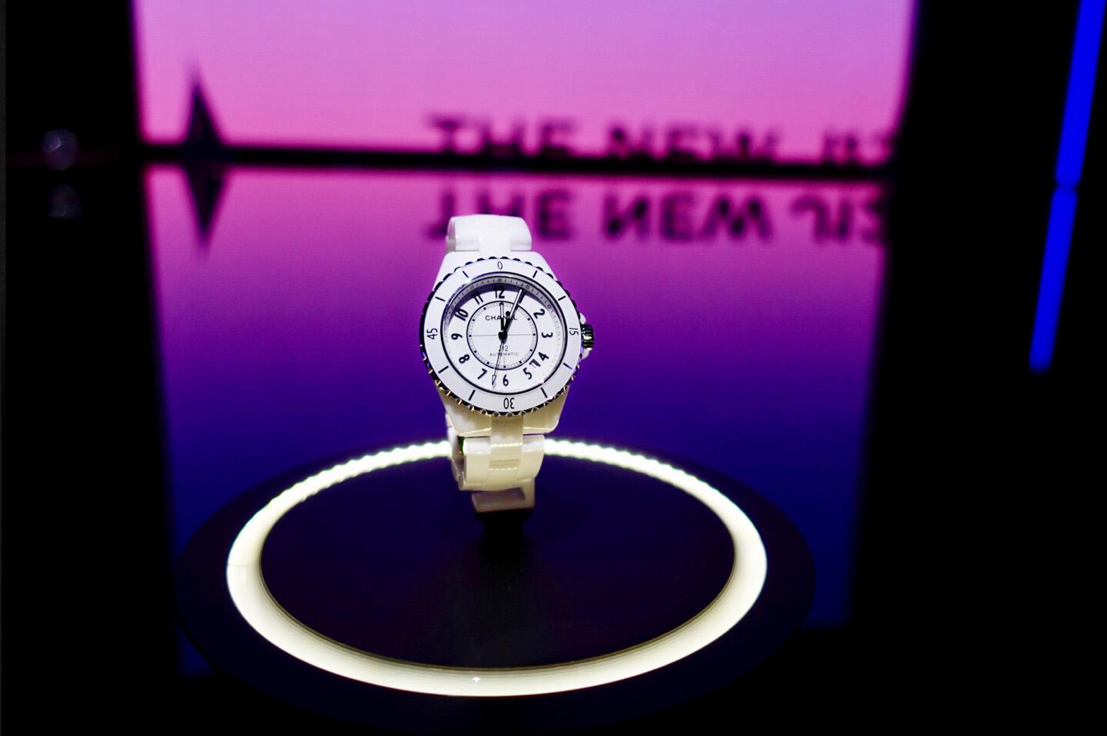 Chanel new J12 watch