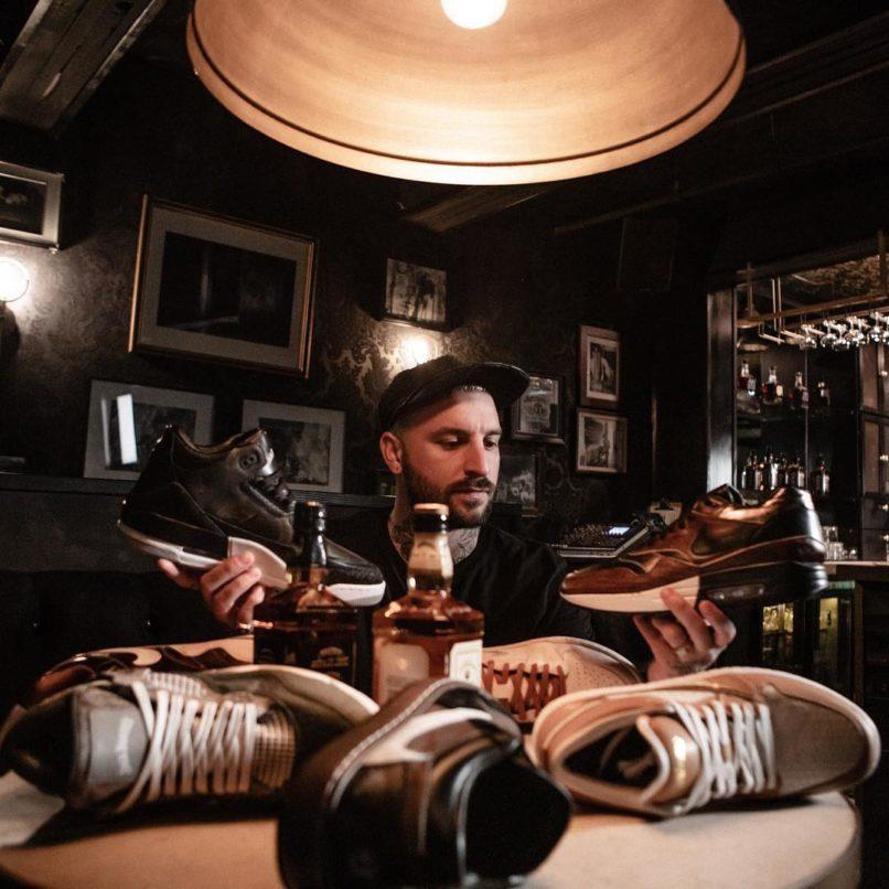 Jack Daniel's sneaker