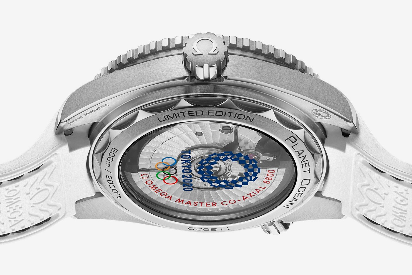 The Omega Seamaster will have two limited-edition timepieces