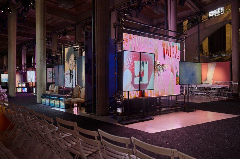 The show space of Miu Miu FW 2019 installation by Sharna Osborne