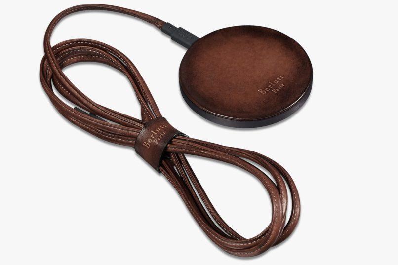 Berluti Leather wireless charger kit