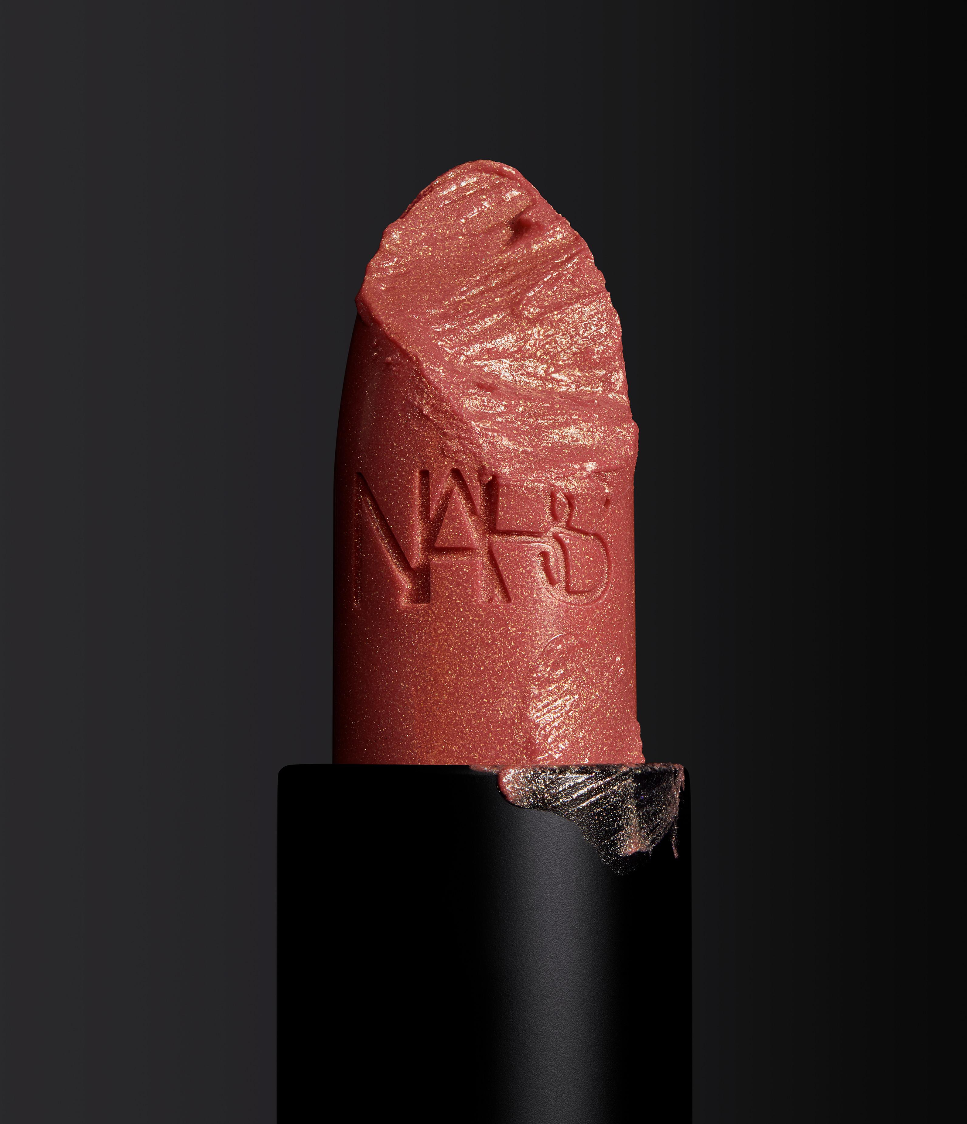 NARS Iconic Lipstick Orgasm Stylized Image