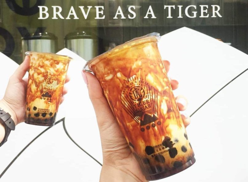 Bubble Tea in Hong Kong: Tiger Sugar