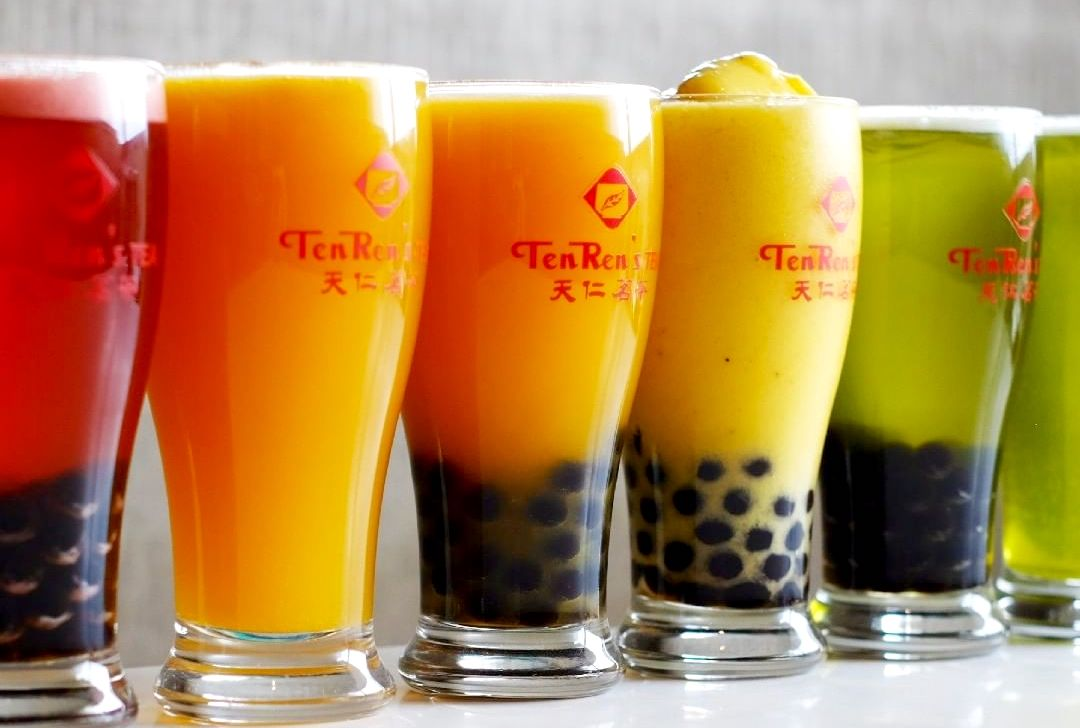 Bubble Tea in Hong Kong: TenRen's Tea