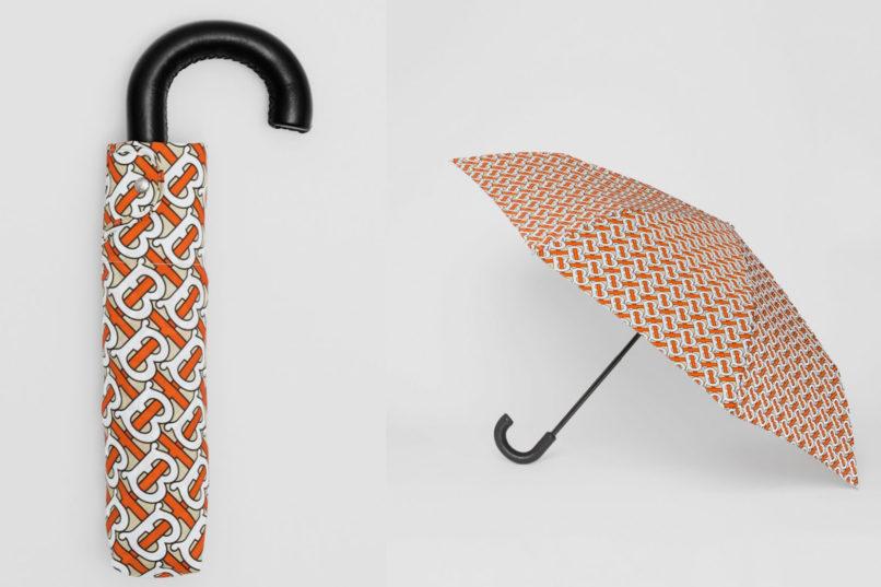 Burberry monogram umbrella