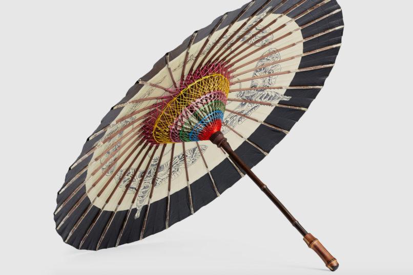 Gucci Moths chinese umbrella