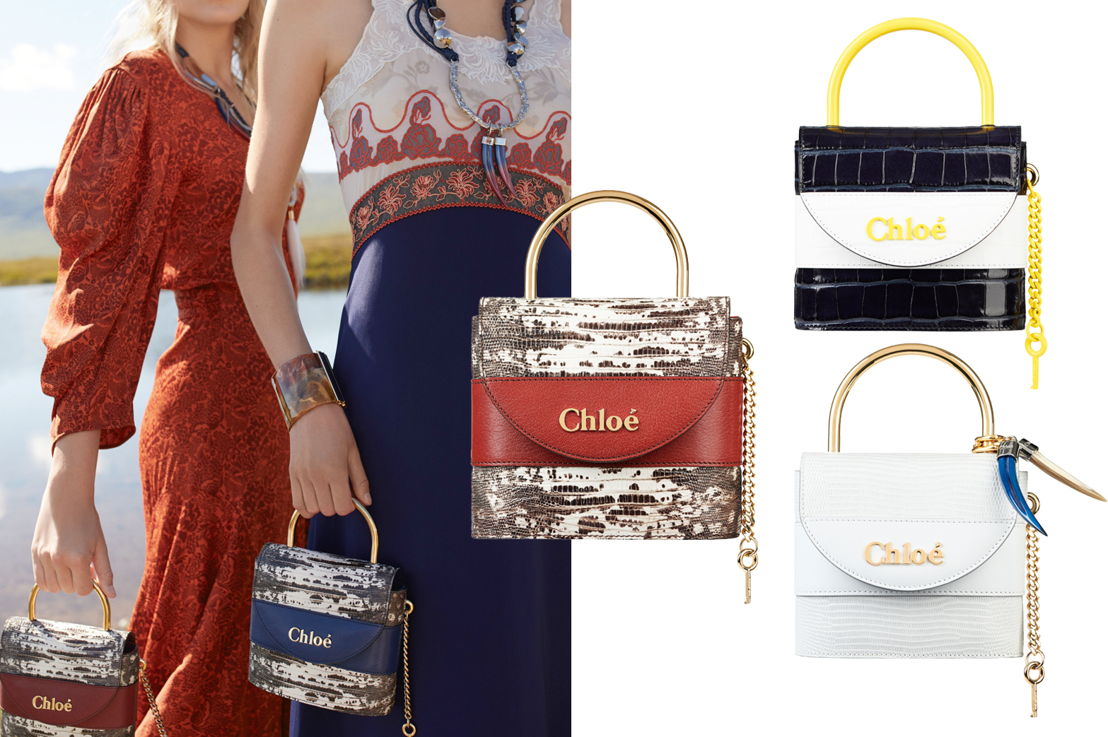 Chloé - Aby lock bag