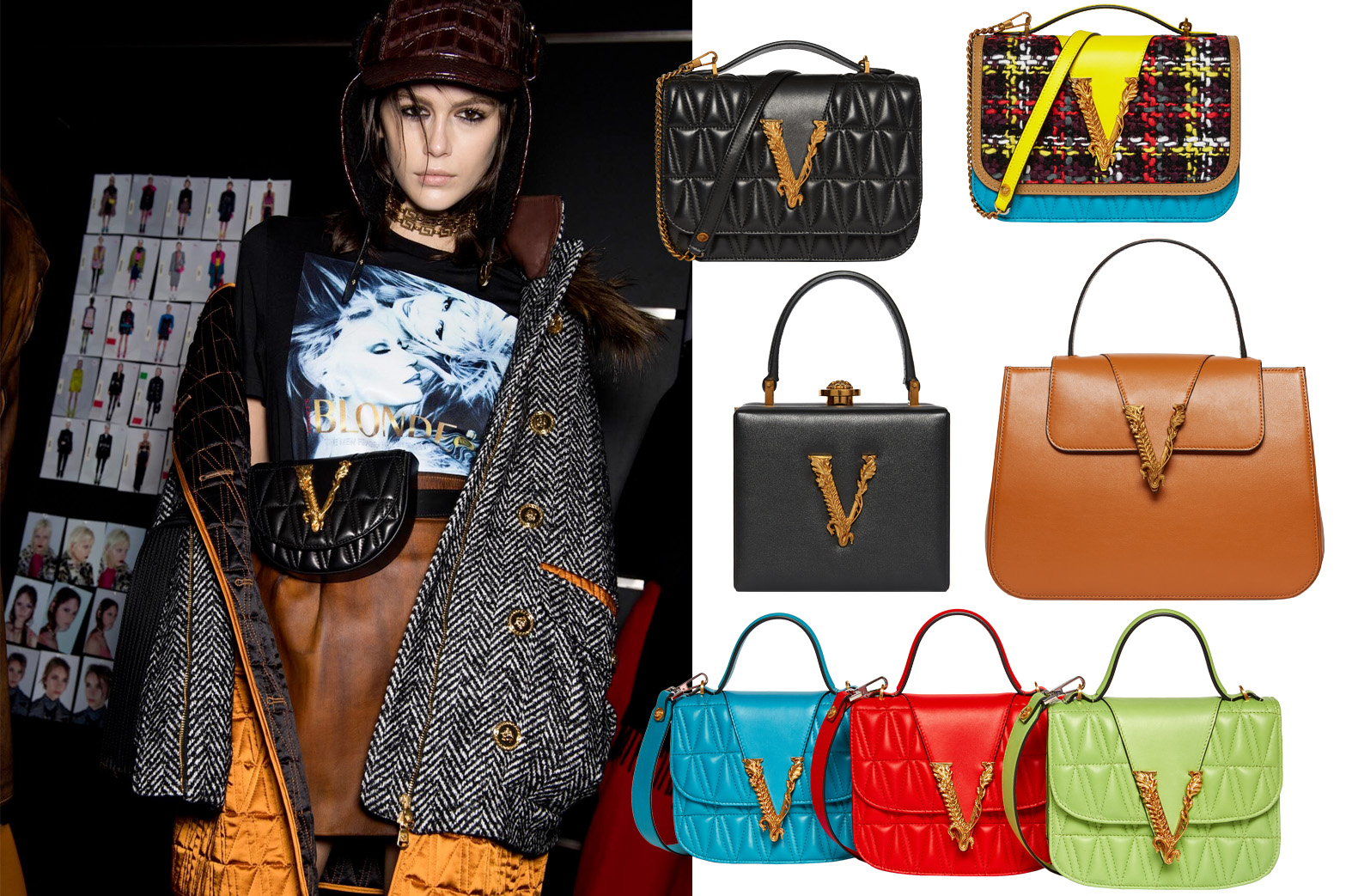 Versace - Virtus bag