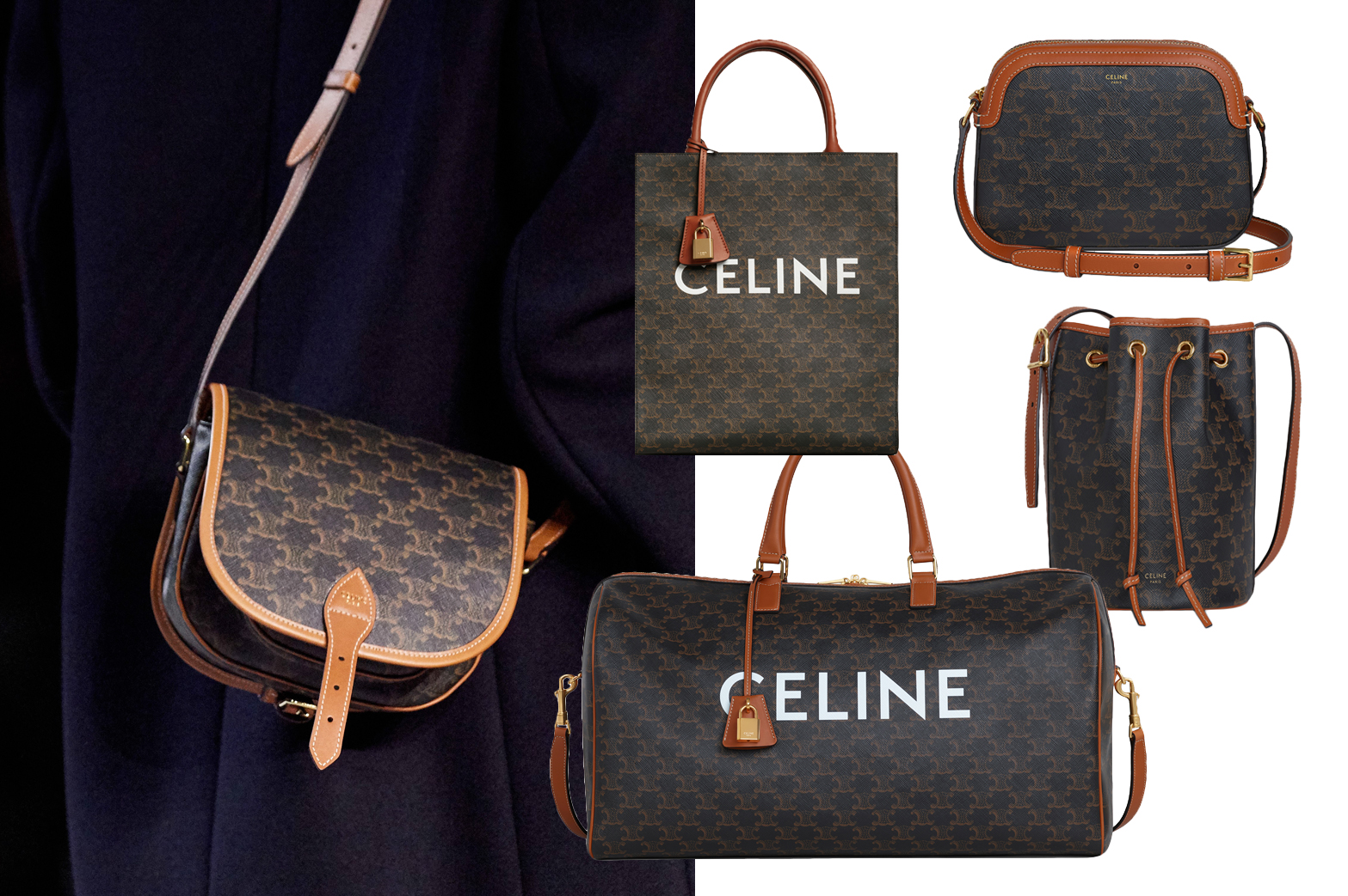 Celine - Triomphe Canvas
