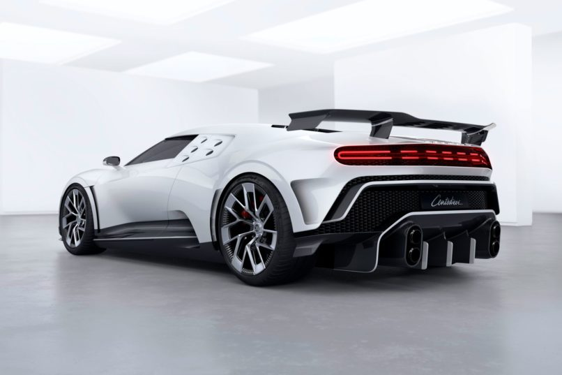 Just One Bugatti La Voiture Noire Exists And It S Priced: Only 10 Units Of The Bugatti Centodieci Are Made, Each