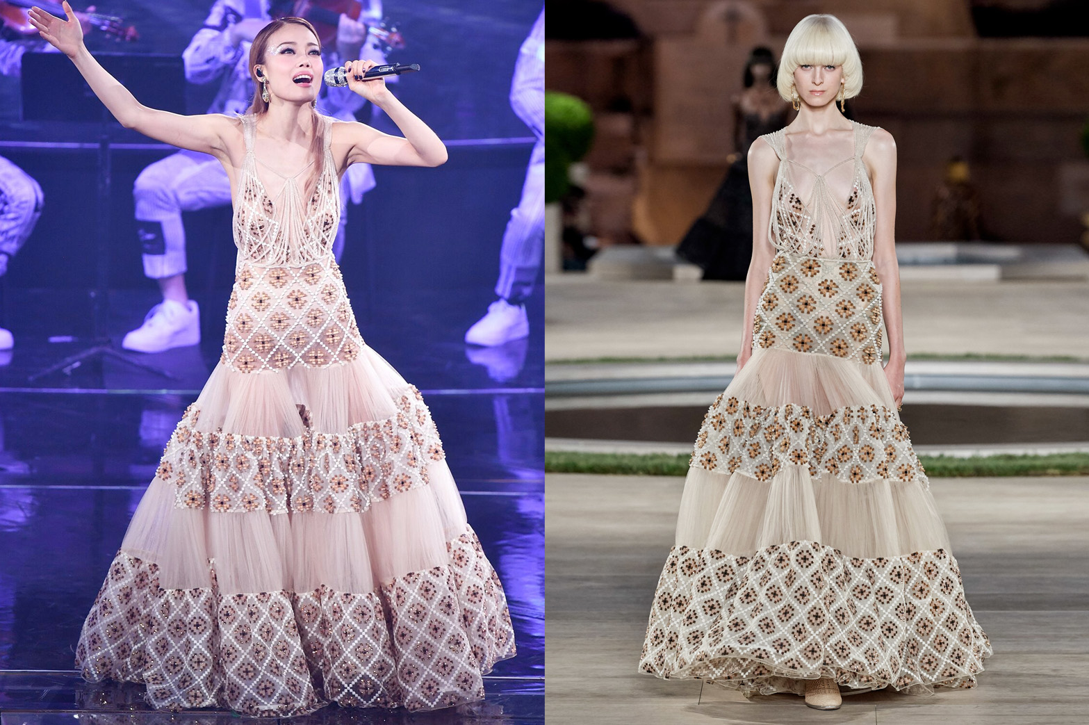 Weekly Obsessions - Joey Yung's Fendi Couture gown