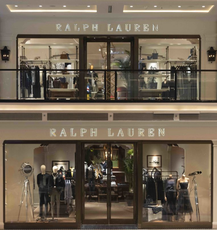 Ralph Lauren's store at The Chanakya. Image: Courtesy Ralph Lauren