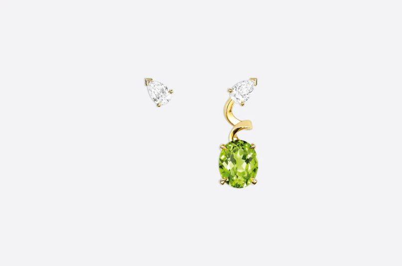 August birthstone peridot: Dior