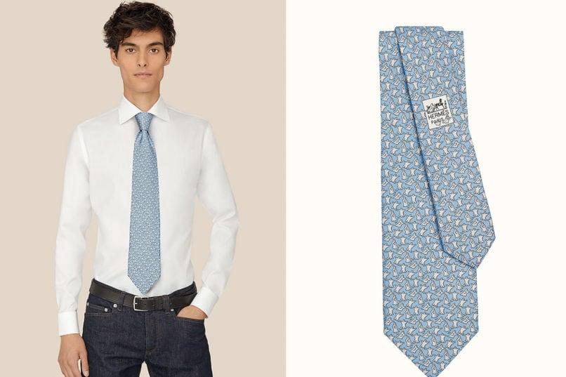 Hermès Booooouh ! necktie