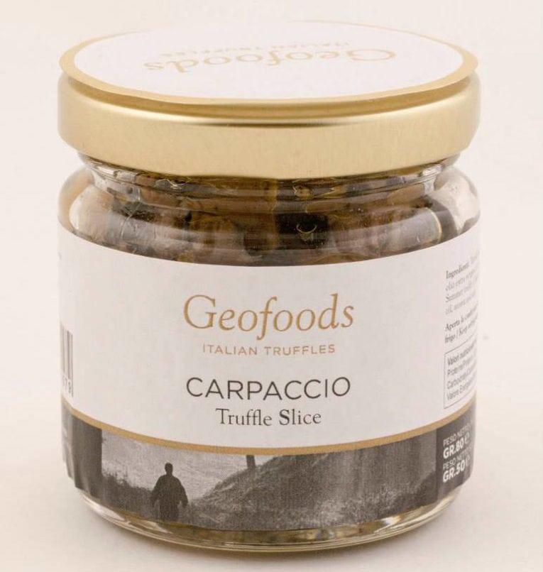 truffle products: truffle slice