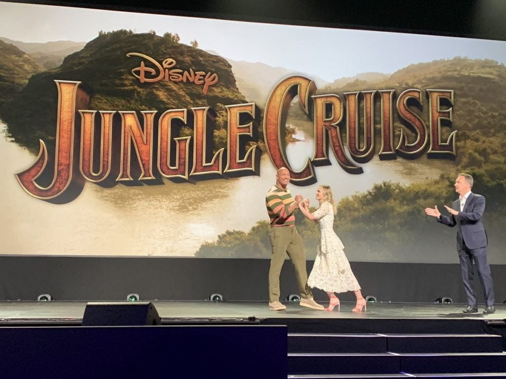 The Rock Emily Blunt D23 Jungle Cruise